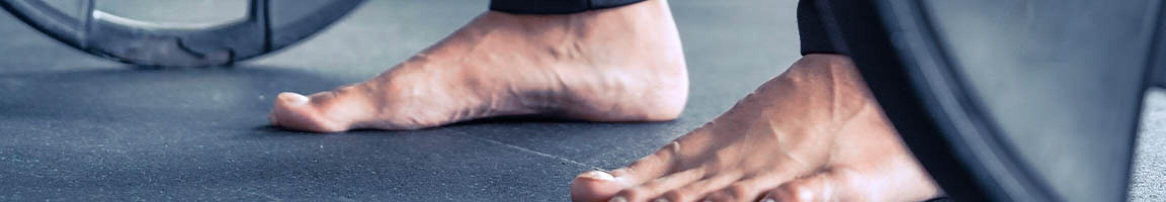Gewichtheberschuhe oder barfuß