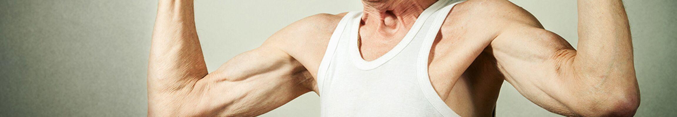 Ist auch ein Muskelaufbau im Alter noch möglich? Absolut!